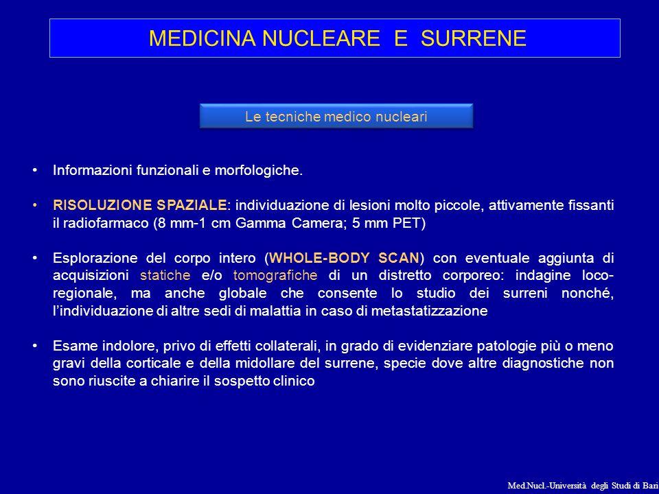 MEDICINA NUCLEARE E SURRENE