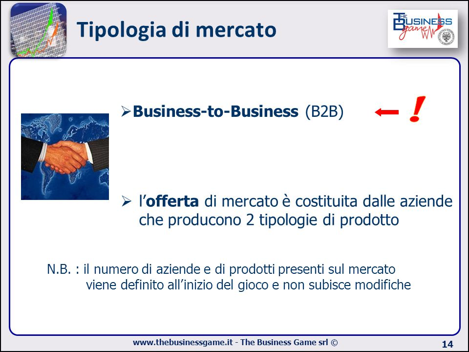 Tipologia di mercato ! Business-to-Business (B2B)