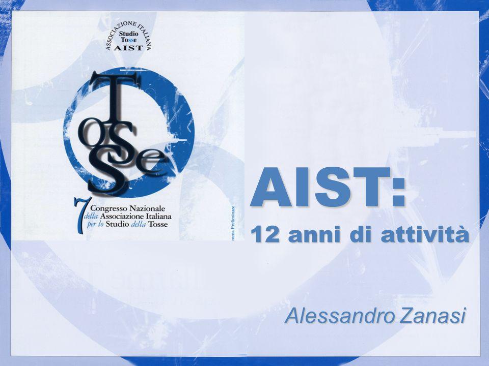 AIST: 12 anni di attività Alessandro Zanasi