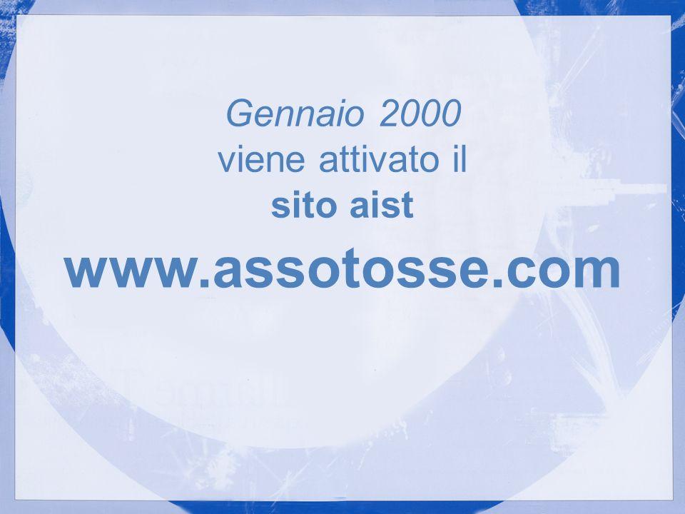 Gennaio 2000 viene attivato il sito aist
