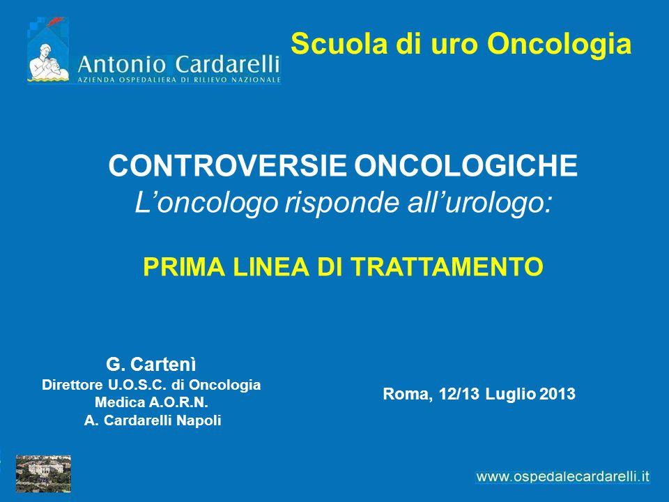 Scuola di uro Oncologia CONTROVERSIE ONCOLOGICHE