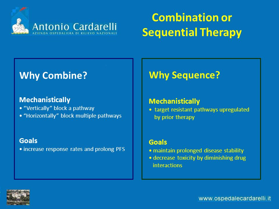 Combination or Sequential Therapy