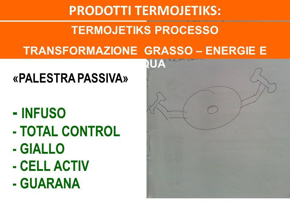 PRODOTTI TERMOJETIKS: TRANSFORMAZIONE GRASSO – ENERGIE E ACQUA