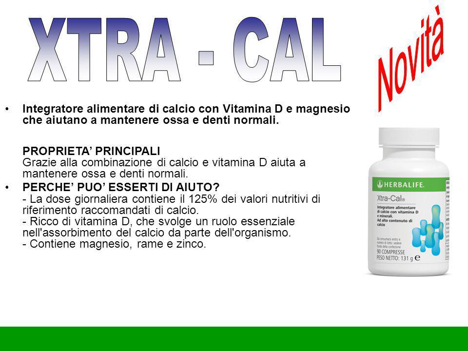 Novità XTRA - CAL.