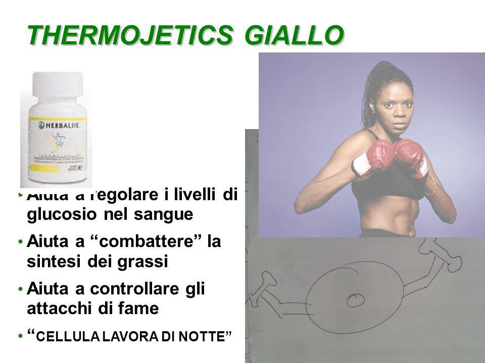 THERMOJETICS GIALLO Aiuta a regolare i livelli di glucosio nel sangue