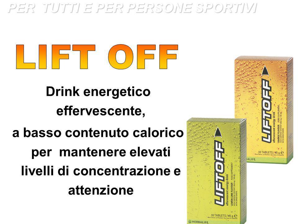 Drink energetico effervescente,