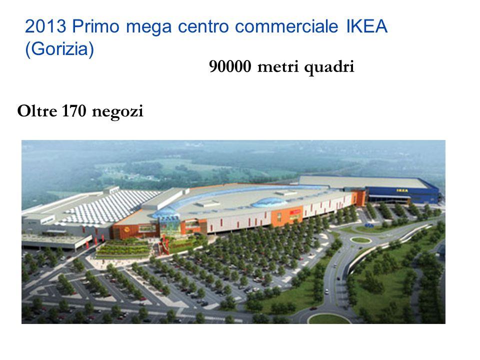 2013 Primo mega centro commerciale IKEA (Gorizia)