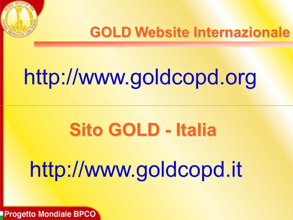 GOLD Website Internazionale