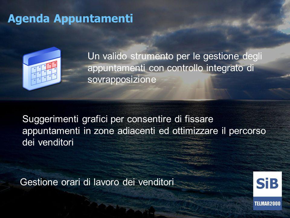 Agenda Appuntamenti Un valido strumento per le gestione degli appuntamenti con controllo integrato di sovrapposizione.