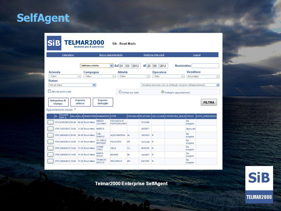 Telmar2000 Enterprise SelfAgent