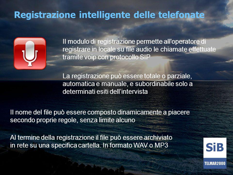 Registrazione intelligente delle telefonate