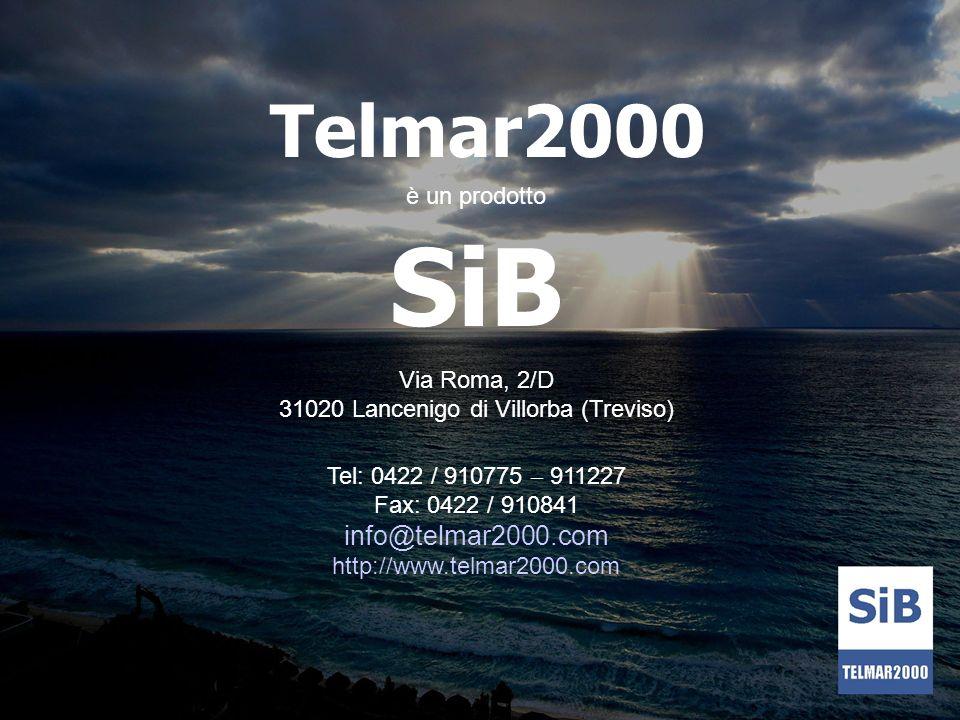 SiB Telmar2000 è un prodotto
