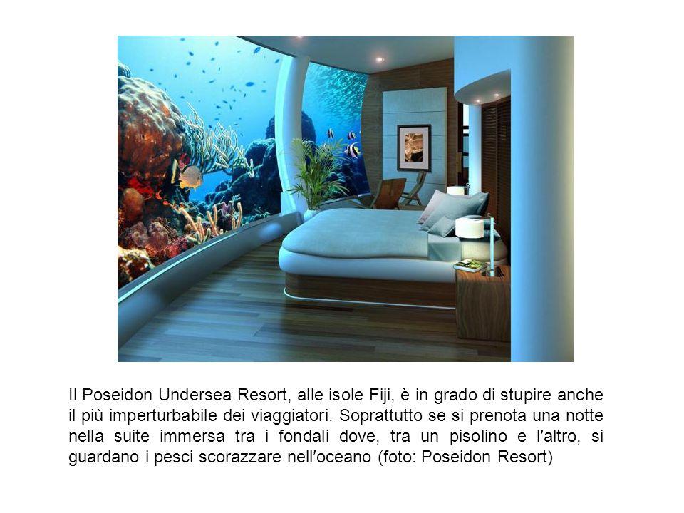 Il Poseidon Undersea Resort, alle isole Fiji, è in grado di stupire anche il più imperturbabile dei viaggiatori.