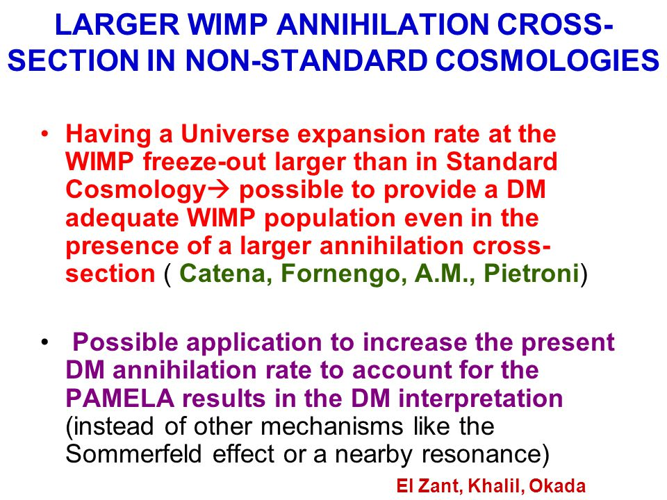 LARGER WIMP ANNIHILATION CROSS-SECTION IN NON-STANDARD COSMOLOGIES