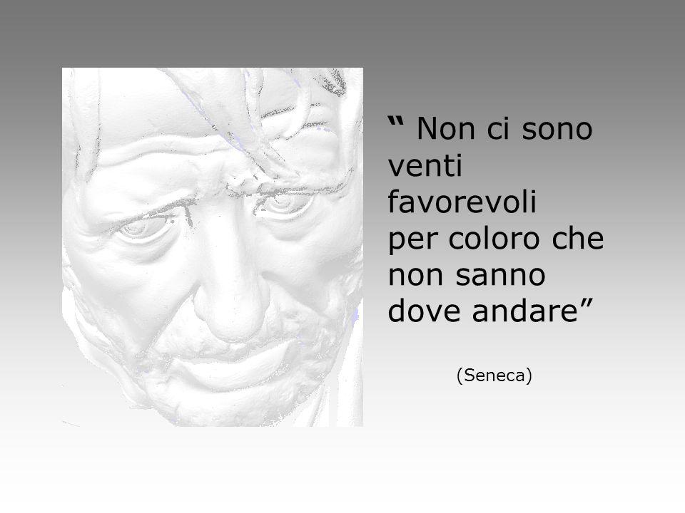 Non ci sono venti favorevoli per coloro che non sanno dove andare (Seneca)