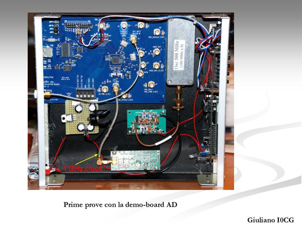 Prime prove con la demo-board AD