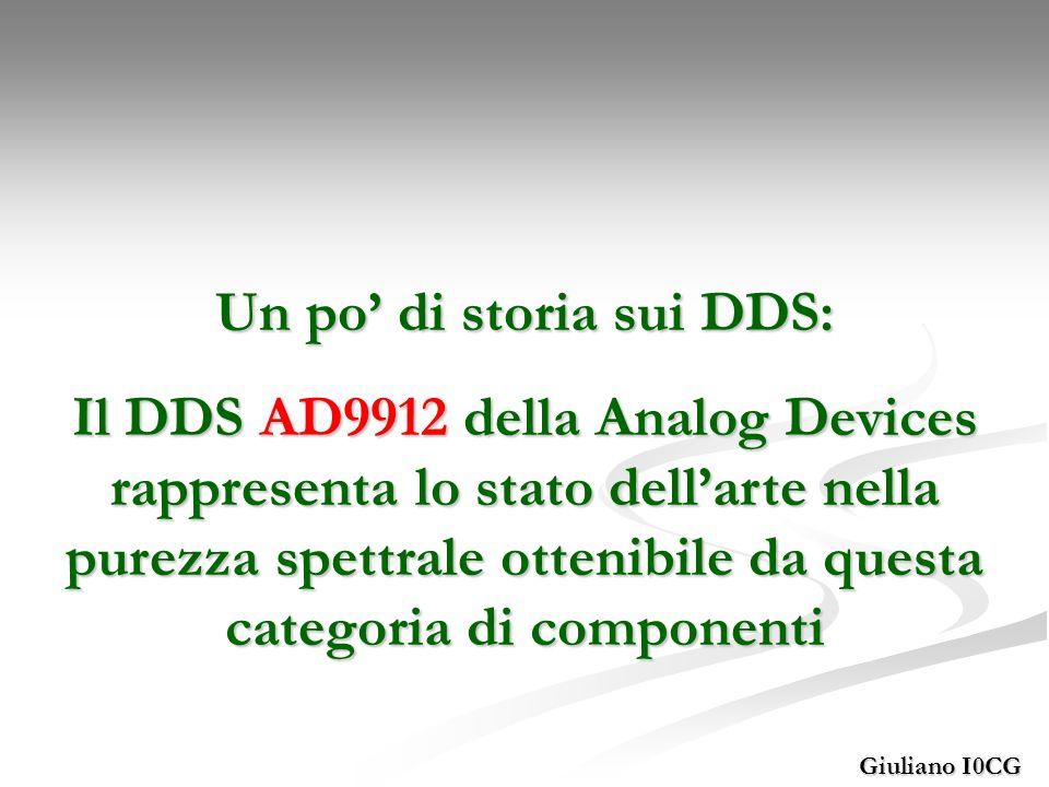 Un po' di storia sui DDS: