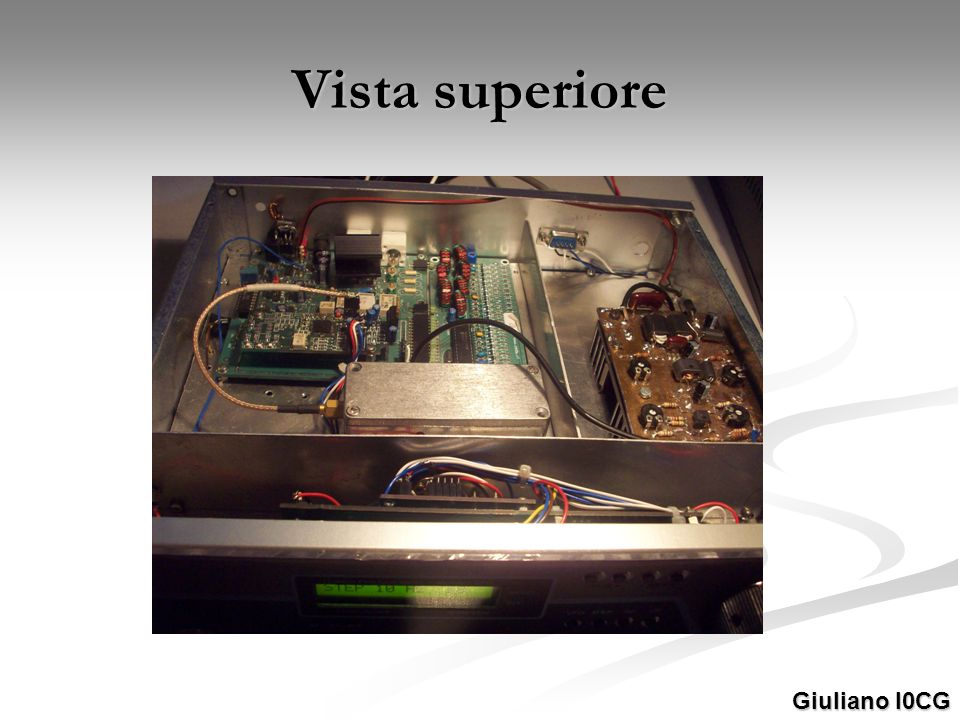 Vista superiore Giuliano I0CG