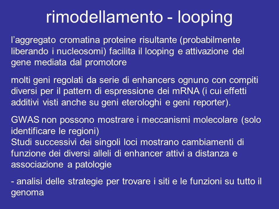 rimodellamento - looping