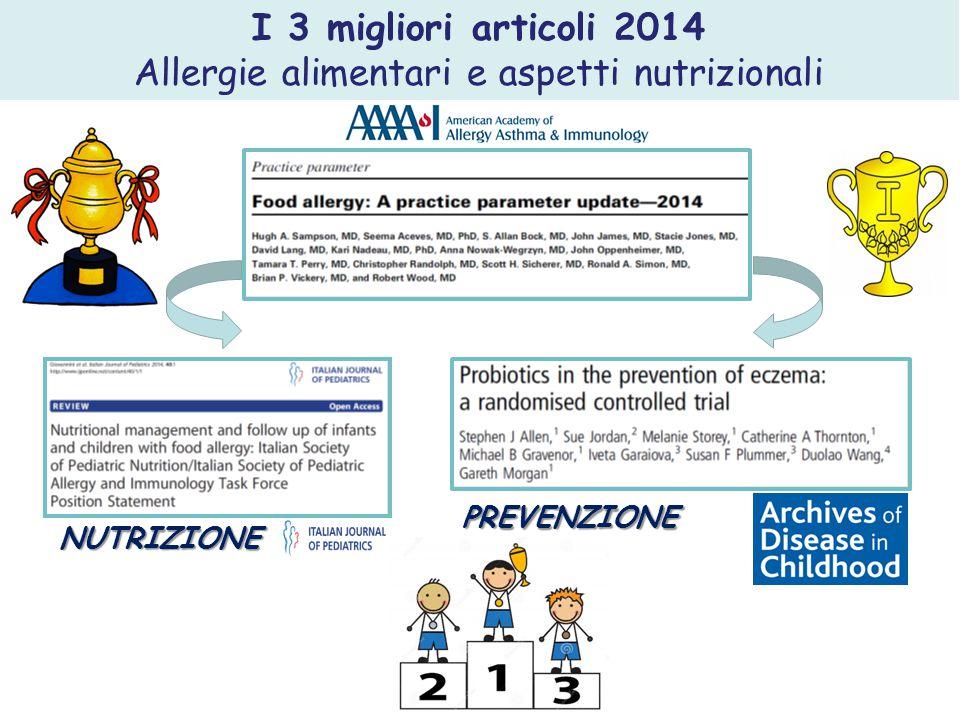 Allergie alimentari e aspetti nutrizionali