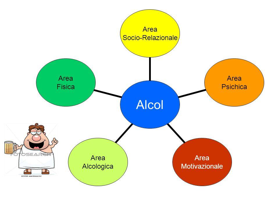 L'alcol è il centro a cui afferiscono problematiche di varie aree
