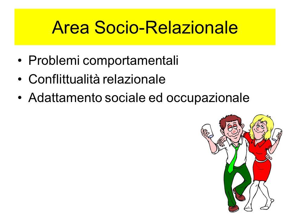 Area Socio-Relazionale