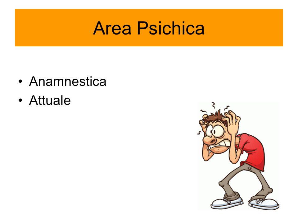 Area Psichica Anamnestica Attuale