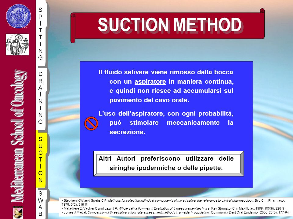 SUCTION METHOD S. P. I. TT. NG.
