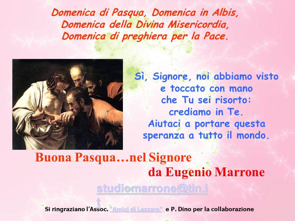 Buona Pasqua…nel Signore da Eugenio Marrone