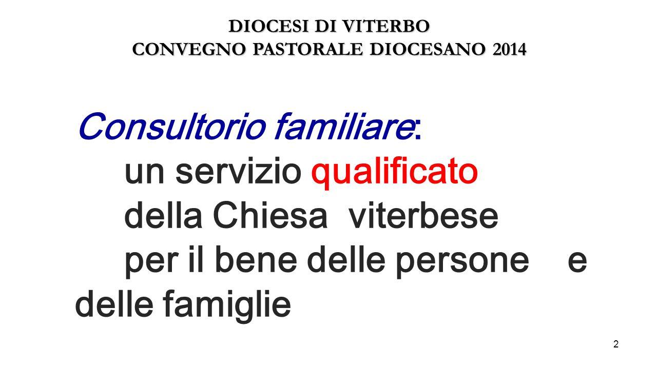 CONVEGNO PASTORALE DIOCESANO 2014