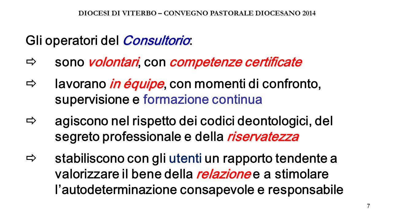 DIOCESI DI VITERBO – CONVEGNO PASTORALE DIOCESANO 2014