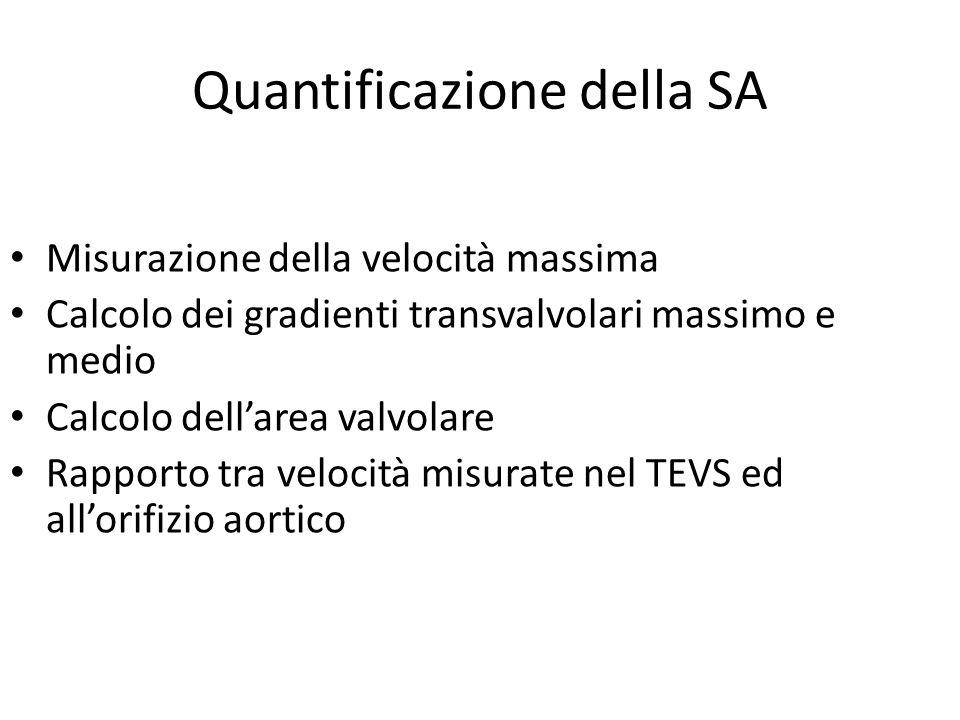 Quantificazione della SA
