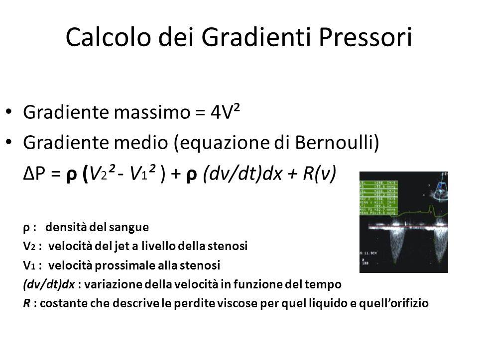 Calcolo dei Gradienti Pressori