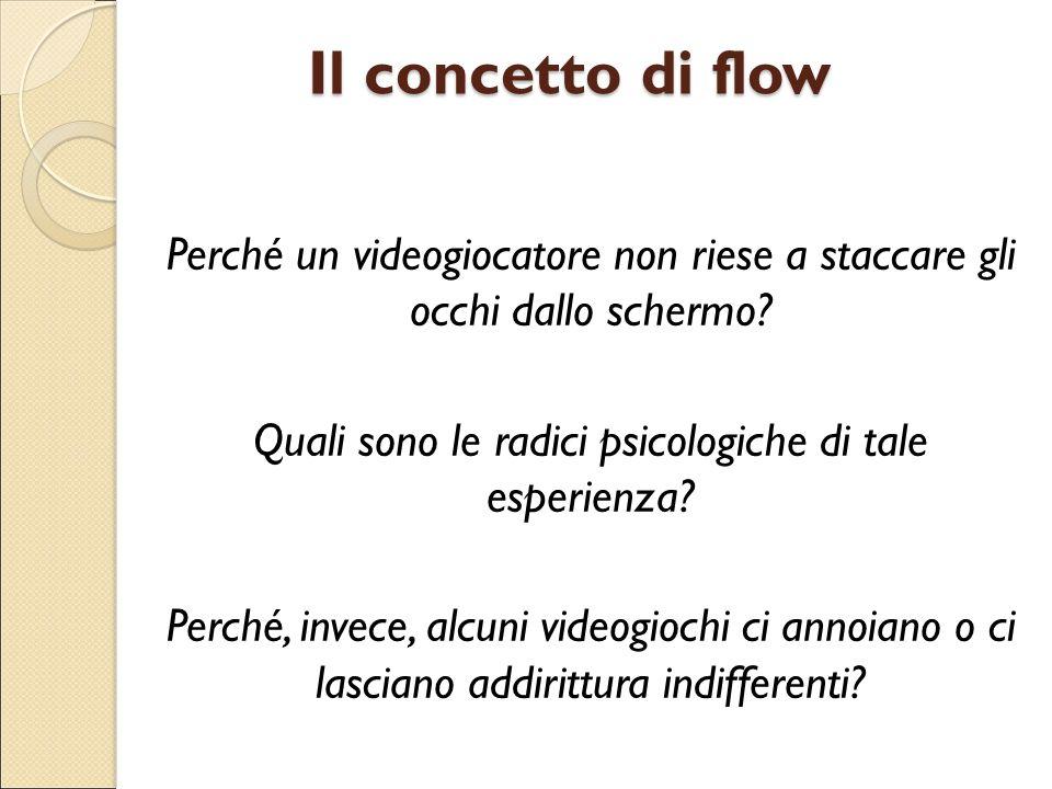 Il concetto di flow