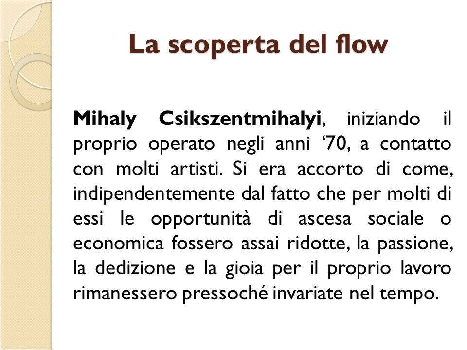 La scoperta del flow