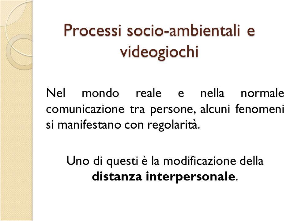 Processi socio-ambientali e videogiochi