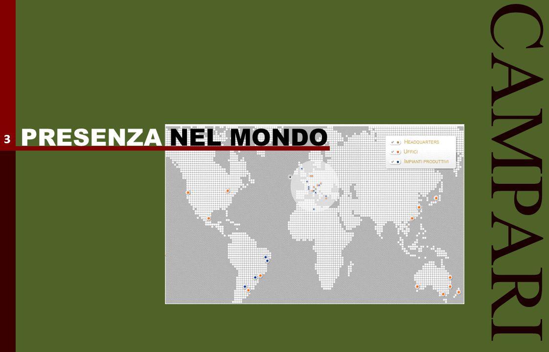 PRESENZA NEL MONDO 3 CAMPARI