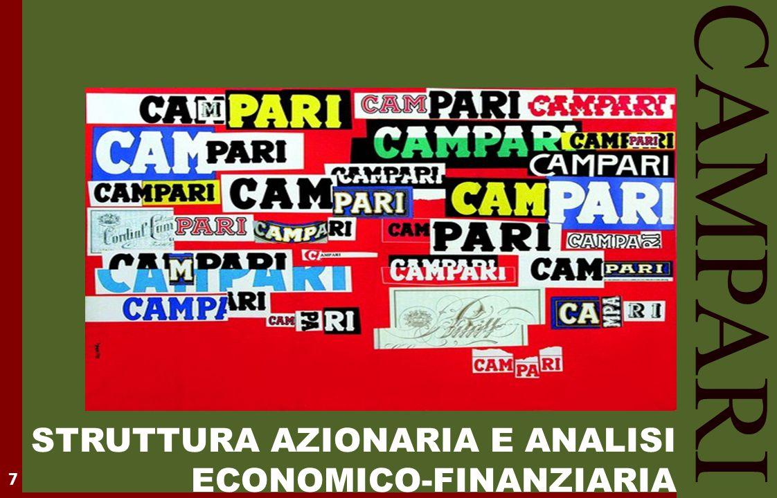 CAMPARI STRUTTURA AZIONARIA E ANALISI ECONOMICO-FINANZIARIA 7