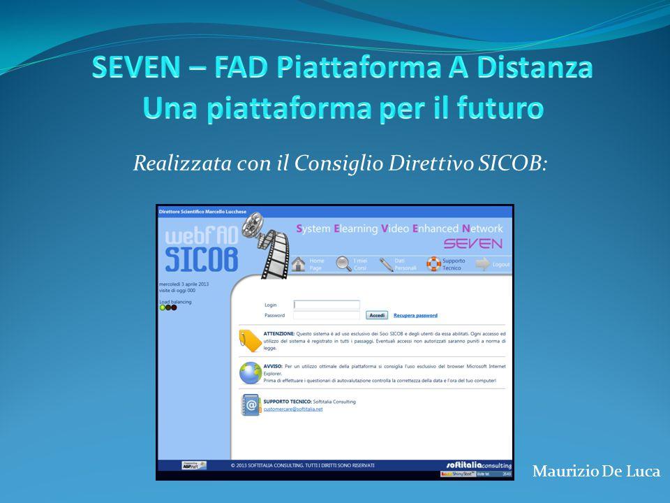 SEVEN – FAD Piattaforma A Distanza Una piattaforma per il futuro