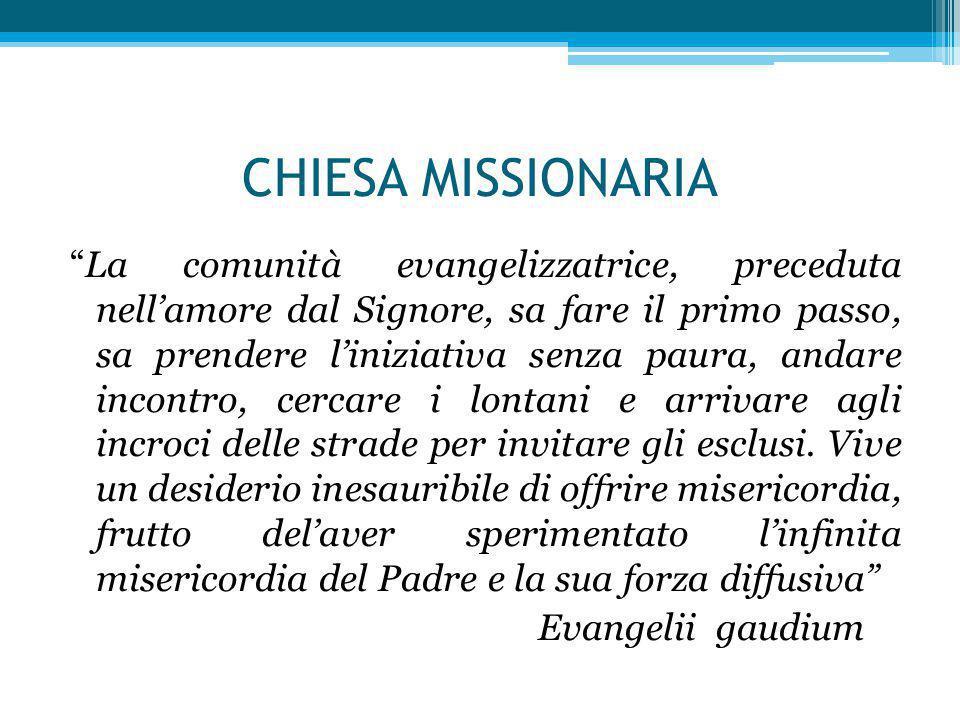CHIESA MISSIONARIA