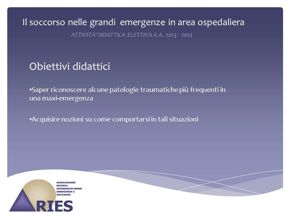 ATTIVITA' DIDATTICA ELETTIVA A.A. 2013 - 2014