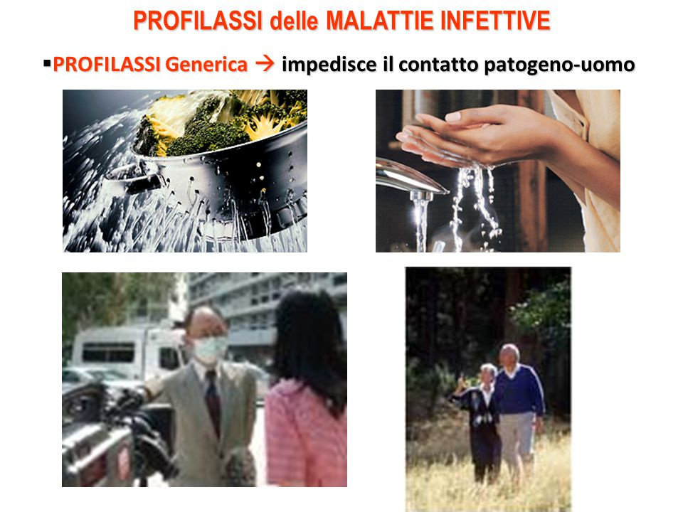 PROFILASSI delle MALATTIE INFETTIVE