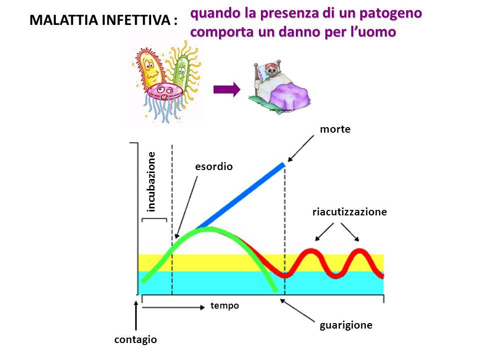 quando la presenza di un patogeno comporta un danno per l'uomo