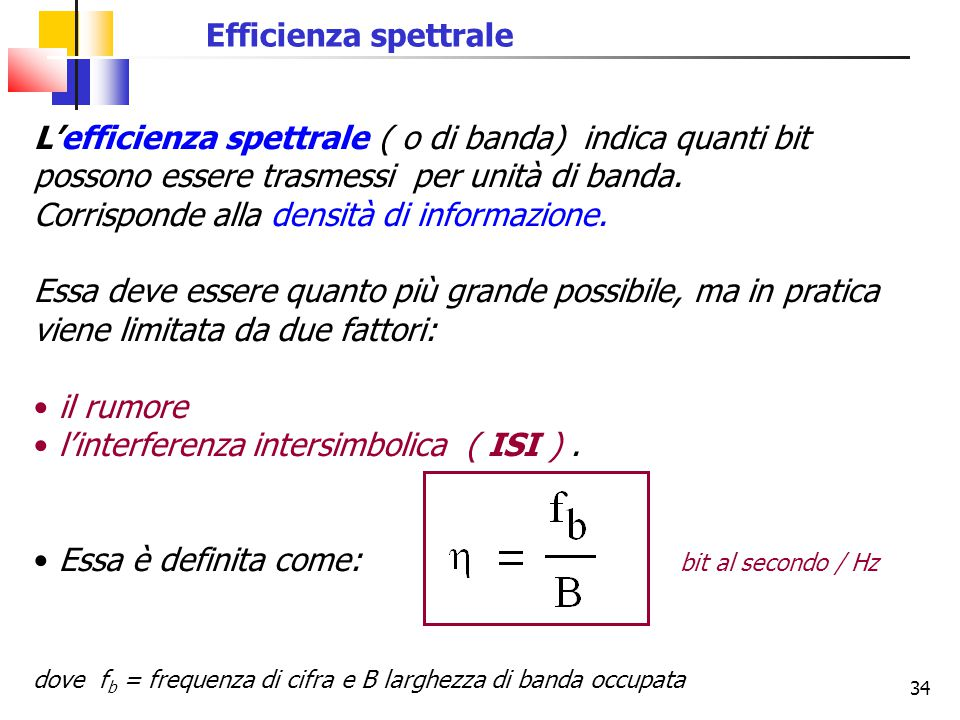 l'interferenza intersimbolica ( ISI ) .