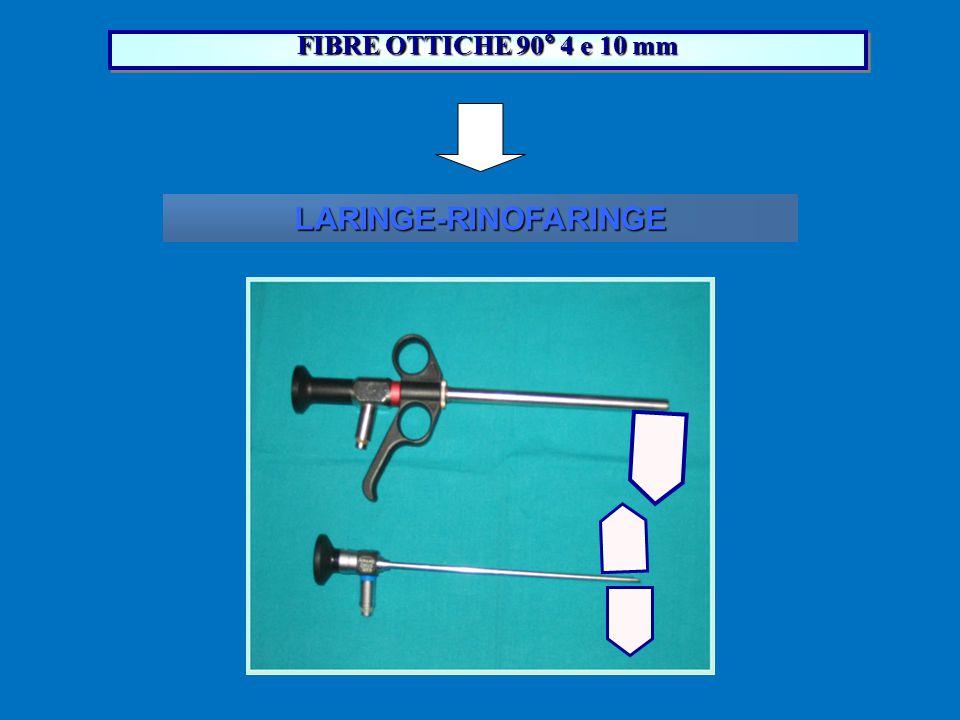 FIBRE OTTICHE 90° 4 e 10 mm LARINGE-RINOFARINGE 18