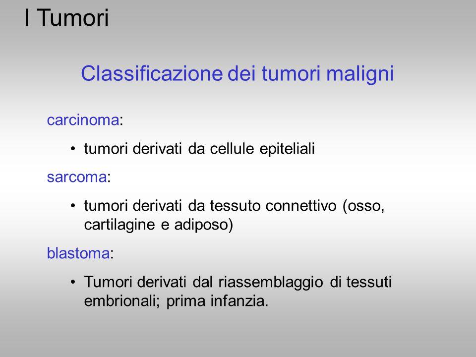 Classificazione dei tumori maligni