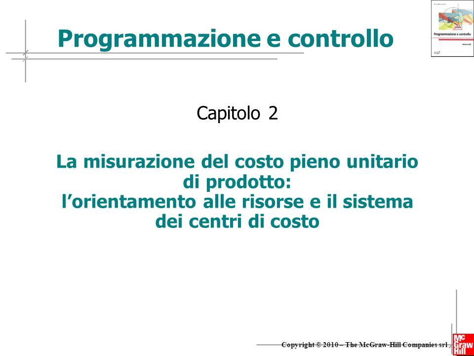 Programmazione e controllo