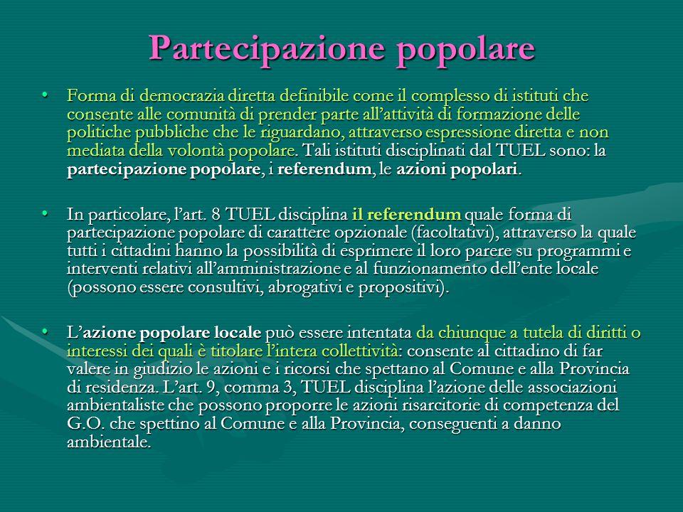 Partecipazione popolare