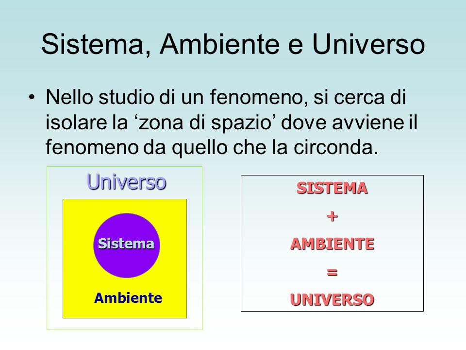 Sistema, Ambiente e Universo