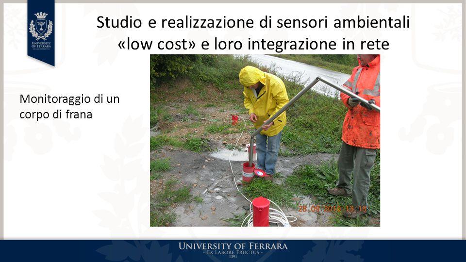 Studio e realizzazione di sensori ambientali «low cost» e loro integrazione in rete